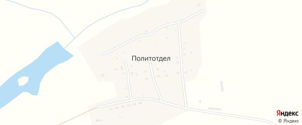 Совхозная улица на карте села Политотдела с номерами домов