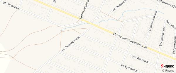 Улица Фролова на карте села Раевского с номерами домов