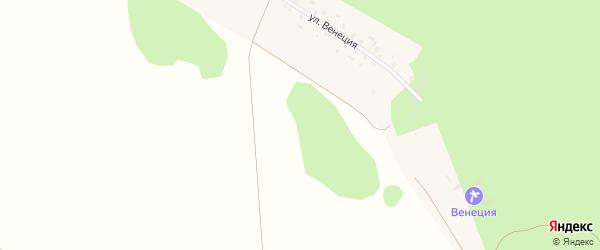 Зеленая улица на карте Веялочной деревни с номерами домов