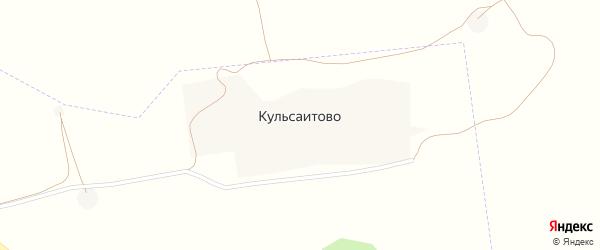 Улица Жукова на карте деревни Кульсаитово с номерами домов