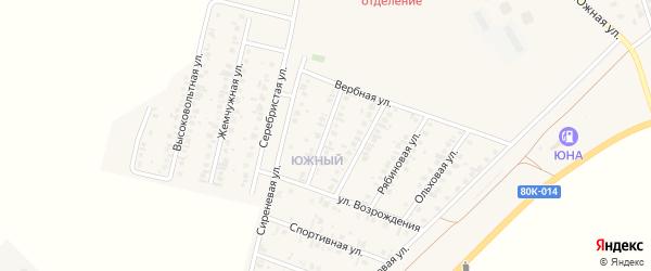 Янтарная улица на карте Янаула с номерами домов