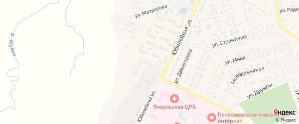 Улица Подстанция на карте Янаула с номерами домов