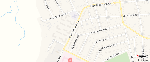 Улица И.Давлетшина на карте Янаула с номерами домов