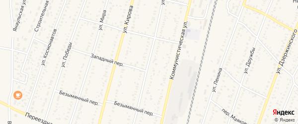 Улица Карла Маркса на карте села Раевского с номерами домов