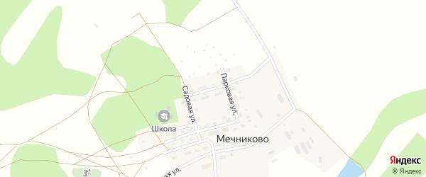Улица Черемушки на карте села Мечниково с номерами домов