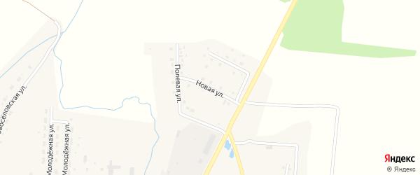 Новая улица на карте села Благовара с номерами домов