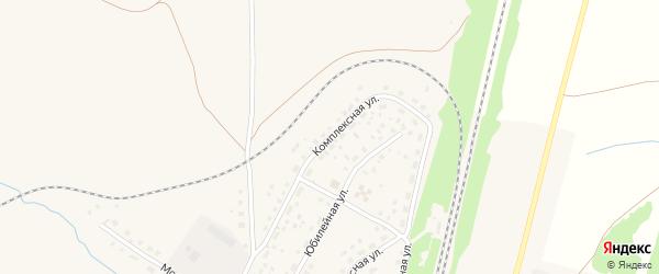 Комплексная улица на карте села Раевского с номерами домов