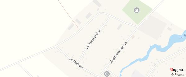 Улица Хлеборобов на карте села Куккуяново с номерами домов