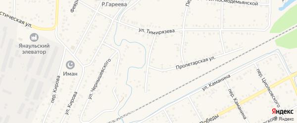 Улица Нахимова на карте Янаула с номерами домов