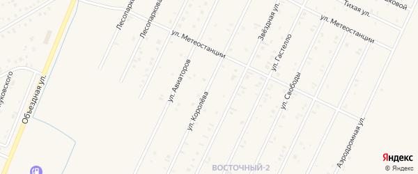 Улица Королева на карте Янаула с номерами домов