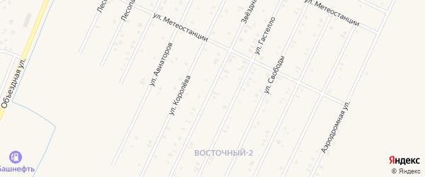 Звездная улица на карте Янаула с номерами домов