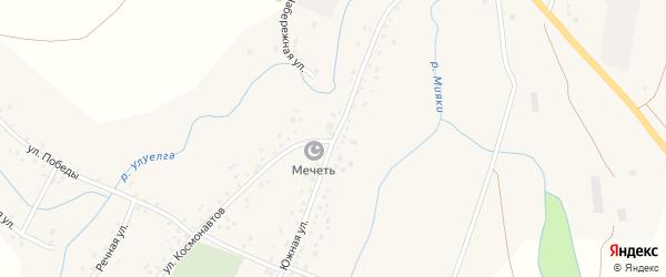 Южная улица на карте села Анясево с номерами домов