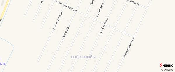 Улица Гастелло на карте Янаула с номерами домов