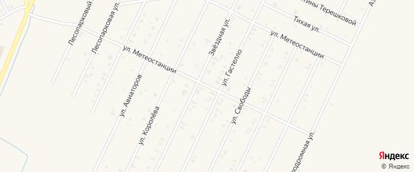 Улица Метеостанции на карте Янаула с номерами домов