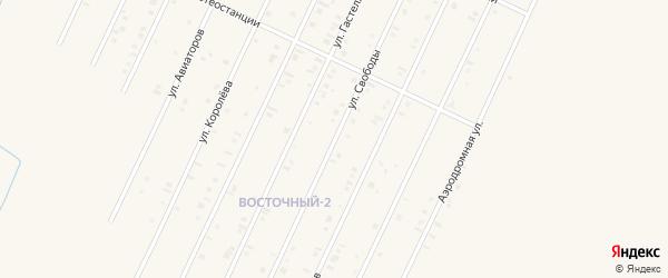 Улица Свободы на карте Янаула с номерами домов