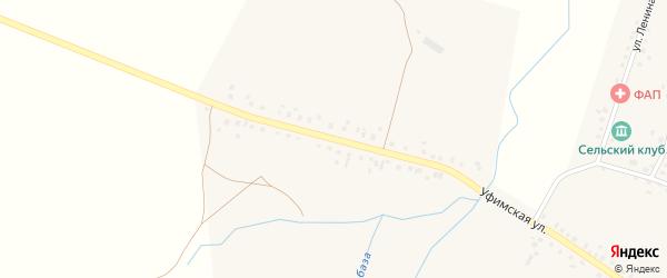 Уфимская улица на карте села Юкаликулево с номерами домов
