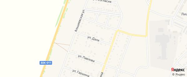 Улица Даля на карте Давлеканово с номерами домов