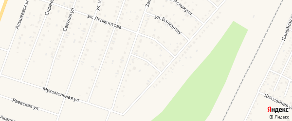 Улица Заки Валиди на карте Давлеканово с номерами домов