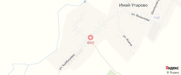 Улица Куйбышева на карте села Имай-Утарово с номерами домов