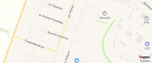 Улица 8 Марта на карте Давлеканово с номерами домов