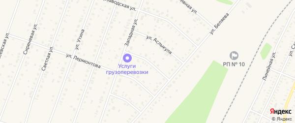 Улица Балкантау на карте Давлеканово с номерами домов
