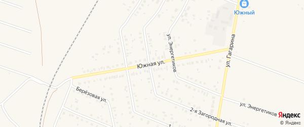 Южная улица на карте Давлеканово с номерами домов