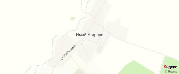 Карта села Имай-Утарово в Башкортостане с улицами и номерами домов