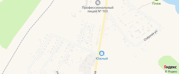 Улица Вторая Гагарина на карте Давлеканово с номерами домов