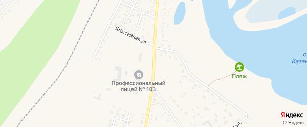 Улица Гагарина на карте Давлеканово с номерами домов