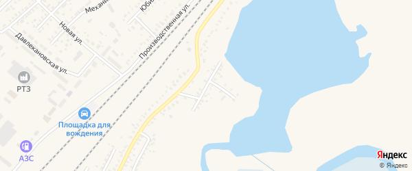 Красноармейская улица на карте Давлеканово с номерами домов