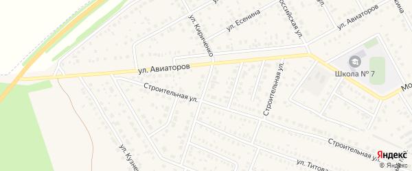 Улица Кириченко на карте Давлеканово с номерами домов