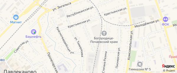 Алтайская улица на карте Давлеканово с номерами домов