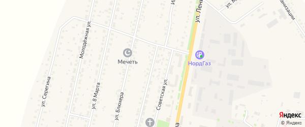 Интернациональная улица на карте села Краснохолмского с номерами домов