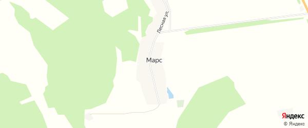 Карта деревни Марса в Башкортостане с улицами и номерами домов