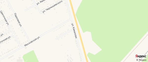 Улица Камалова на карте Давлеканово с номерами домов