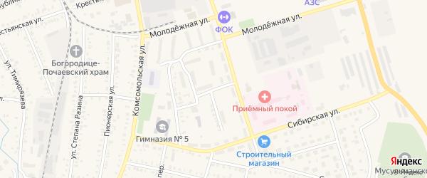 Улица Аксакова на карте Давлеканово с номерами домов