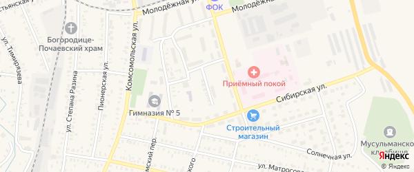 Байкальская улица на карте Давлеканово с номерами домов