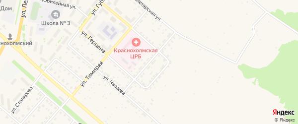 Уфимская улица на карте села Краснохолмского с номерами домов
