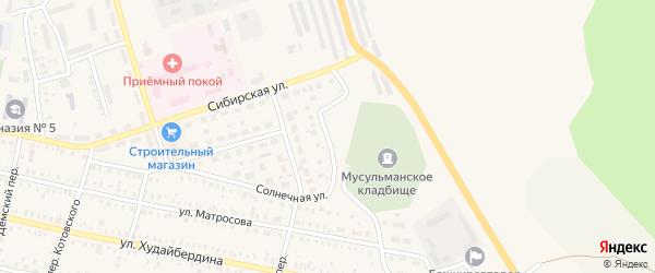 Малая Восточная улица на карте Давлеканово с номерами домов