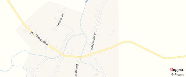 Ключевая улица на карте села Староянтузово с номерами домов