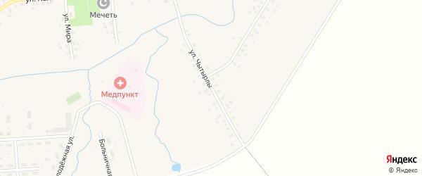 Улица Чытырлы на карте села Москово с номерами домов