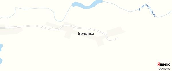 Улица Волынка на карте деревни Волынки с номерами домов