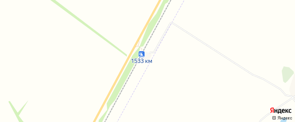 Карта хутора Бишкаина в Башкортостане с улицами и номерами домов
