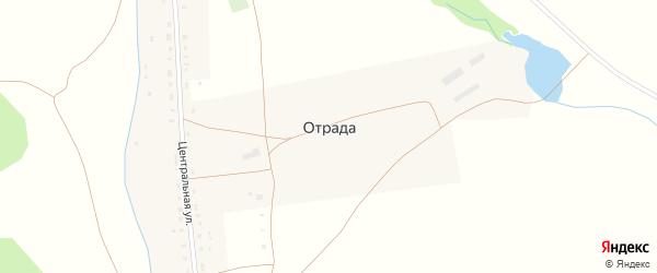 Речная улица на карте села Отрады с номерами домов