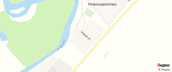 Новая улица на карте деревни Соколовки с номерами домов