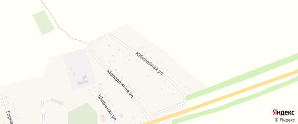 Юбилейная улица на карте села Байталлы с номерами домов