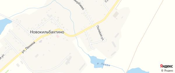 Улица Механизаторов на карте деревни Новокильбахтино с номерами домов