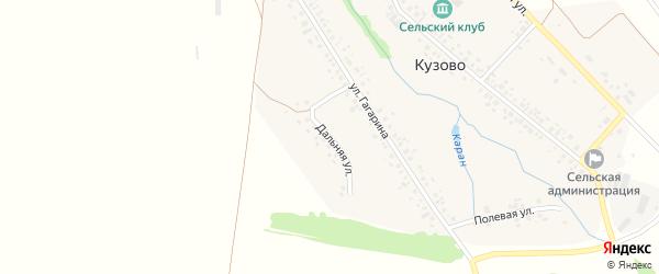 Дальная улица на карте села Кузово с номерами домов