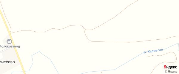 Речная улица на карте села Моисеево с номерами домов
