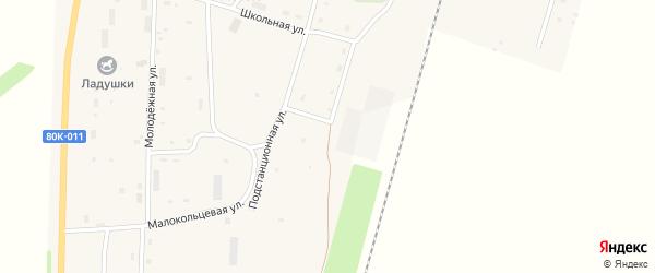 Подстанционная улица на карте села Шингак-Куль с номерами домов